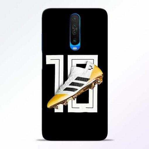 Messi 10 Poco X2 Mobile Cover