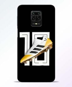 Messi 10 Redmi Note 9 Pro Mobile Cover