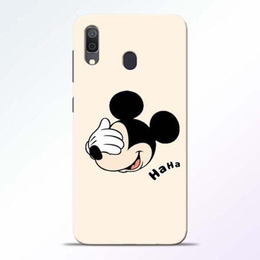 Mickey Face Samsung Galaxy A30 Mobile Cover