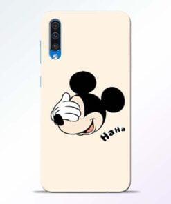 Mickey Face Samsung Galaxy A50 Mobile Cover