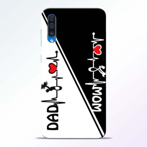 Mom Dad Samsung Galaxy A50 Mobile Cover