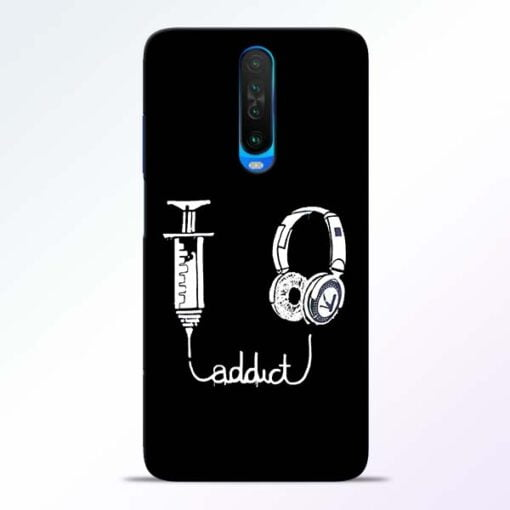 Music Addict Poco X2 Mobile Cover