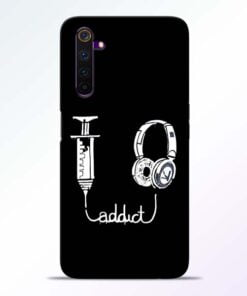 Music Addict Realme 6 Mobile Cover