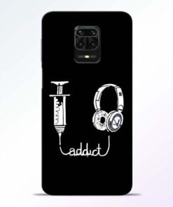 Music Addict Redmi Note 9 Pro Mobile Cover