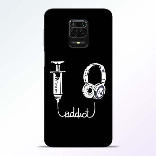 Music Addict Redmi Note 9 Pro Mobile Cover