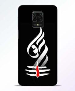 Om Tilak Redmi Note 9 Pro Mobile Cover
