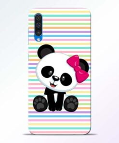 Panda Girl Samsung Galaxy A50 Mobile Cover