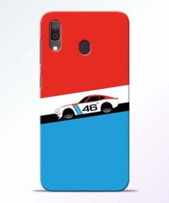 Racing Car Samsung Galaxy A30 Mobile Cover