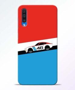 Racing Car Samsung Galaxy A50 Mobile Cover
