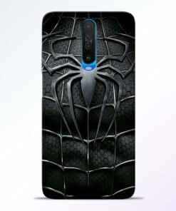Spiderman Web Poco X2 Mobile Cover