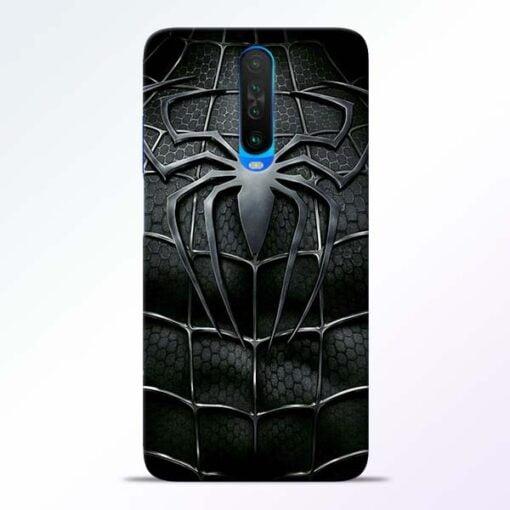 Spiderman Web Poco X2 Mobile Cover