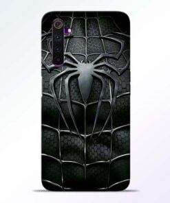 Spiderman Web Realme 6 Mobile Cover