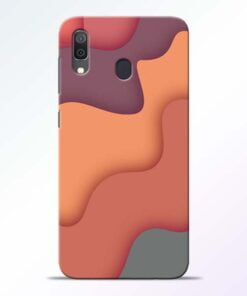 Spill Color Art Samsung Galaxy A30 Mobile Cover