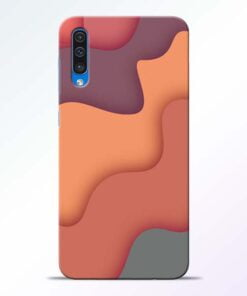 Spill Color Art Samsung Galaxy A50 Mobile Cover