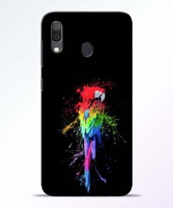 Splatter Parrot Samsung Galaxy A30 Mobile Cover