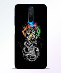 Thanos Hand Poco X2 Mobile Cover