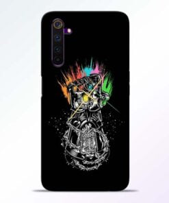 Thanos Hand Realme 6 Mobile Cover