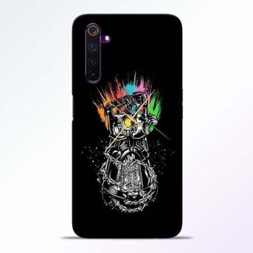 Thanos Hand Realme 6 Pro Mobile Cover