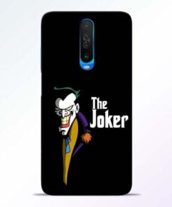 The Joker Face Poco X2 Mobile Cover