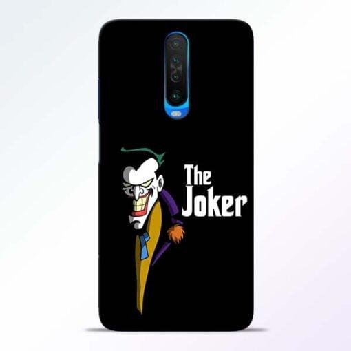 The Joker Face Poco X2 Mobile Cover