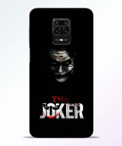 The Joker Redmi Note 9 Pro Mobile Cover