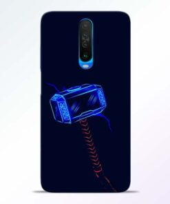 Thor Hammer Poco X2 Mobile Cover