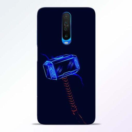 Thor Hammer Poco X2 Mobile Cover