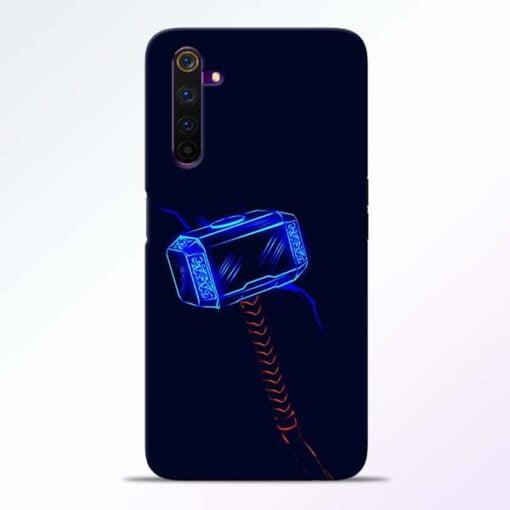 Thor Hammer Realme 6 Mobile Cover