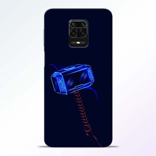 Thor Hammer Redmi Note 9 Pro Mobile Cover