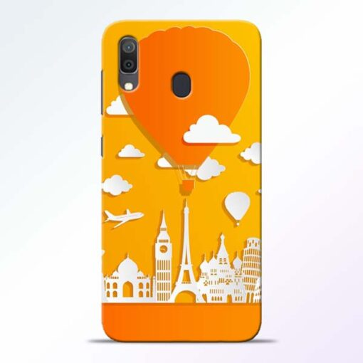 Traveller Samsung Galaxy A30 Mobile Cover