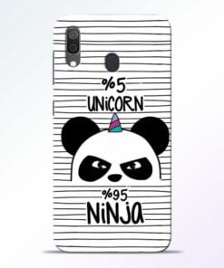 Unicorn Panda Samsung Galaxy A30 Mobile Cover