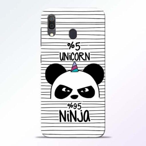 Unicorn Panda Samsung Galaxy A30 Mobile Cover