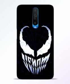 Venom Face Poco X2 Mobile Cover
