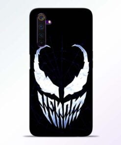 Venom Face Realme 6 Mobile Cover