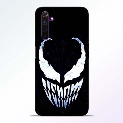 Venom Face Realme 6 Mobile Cover