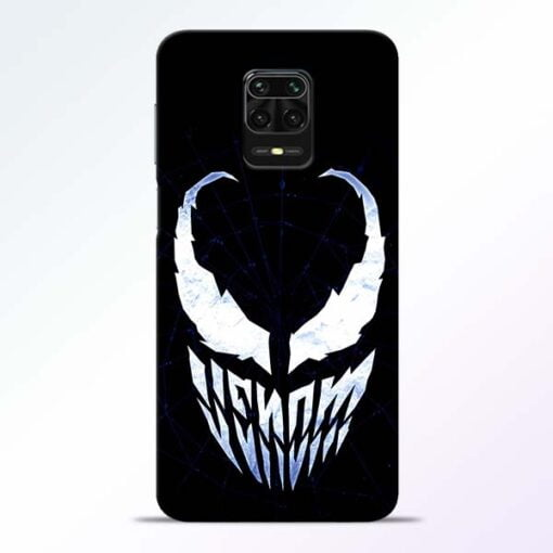 Venom Face Redmi Note 9 Pro Mobile Cover