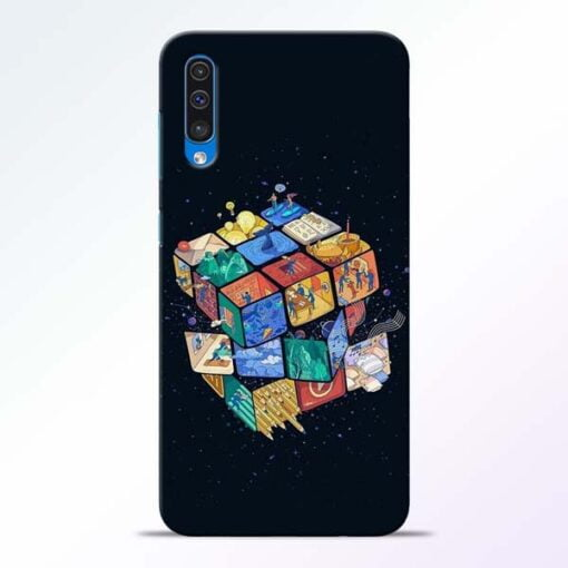 Wolrd Dice Samsung Galaxy A50 Mobile Cover