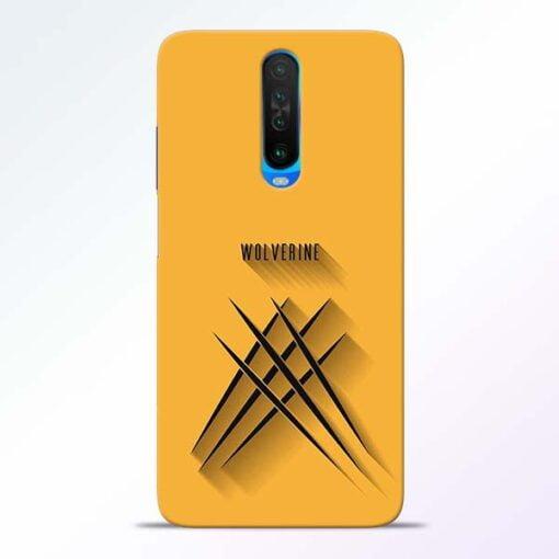 Wolverine Poco X2 Mobile Cover
