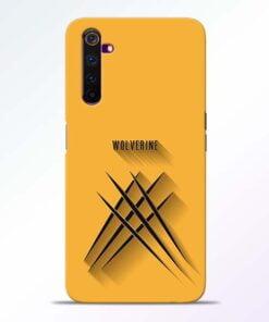 Wolverine Realme 6 Mobile Cover