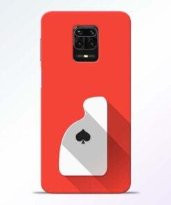 Ace Card Redmi Note 9 Pro Mobile Cover
