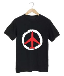 Air Travel Black T shirt