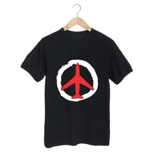 Air Travel Black T shirt