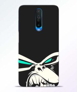Angry Gorilla Poco X2 Mobile Cover