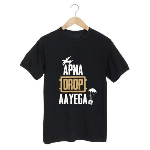 Apna Drop Black T shirt