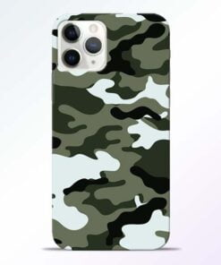 Army Camo iPhone 11 Pro Max Mobile Cover