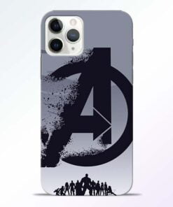 Avengers Team iPhone 11 Pro Max Mobile Cover