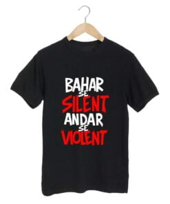 Bahar Se Black T shirt