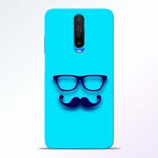 Beard Face Poco X2 Mobile Cover