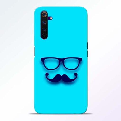 Beard Face Realme 6 Mobile Cover