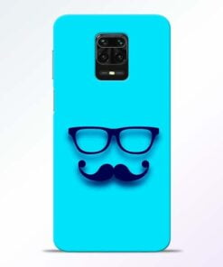 Beard Face Redmi Note 9 Pro Mobile Cover